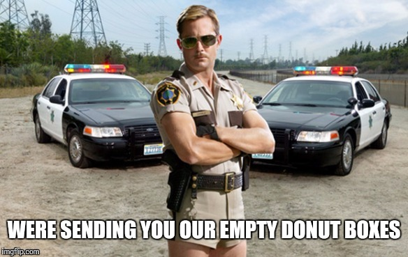 WERE SENDING YOU OUR EMPTY DONUT BOXES | made w/ Imgflip meme maker