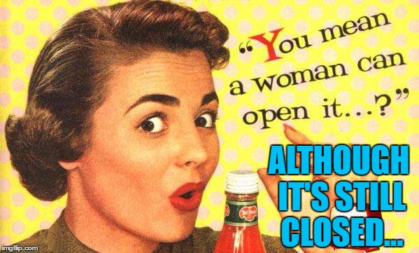 Old ad week - a Swiggys-back event |  ALTHOUGH IT'S STILL CLOSED... | image tagged in memes,old ad week,women,adverts,old adverts | made w/ Imgflip meme maker