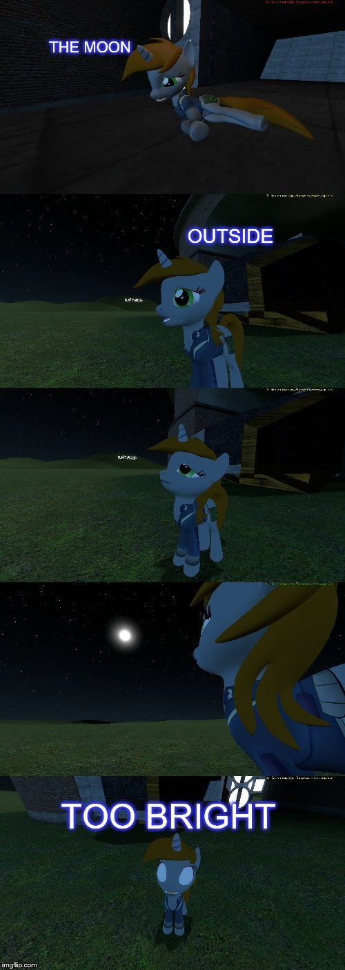 just a short comic I made :D | THE MOON TOO BRIGHT OUTSIDE | image tagged in the moon,outside,too bright,black,by dierks bently | made w/ Imgflip meme maker