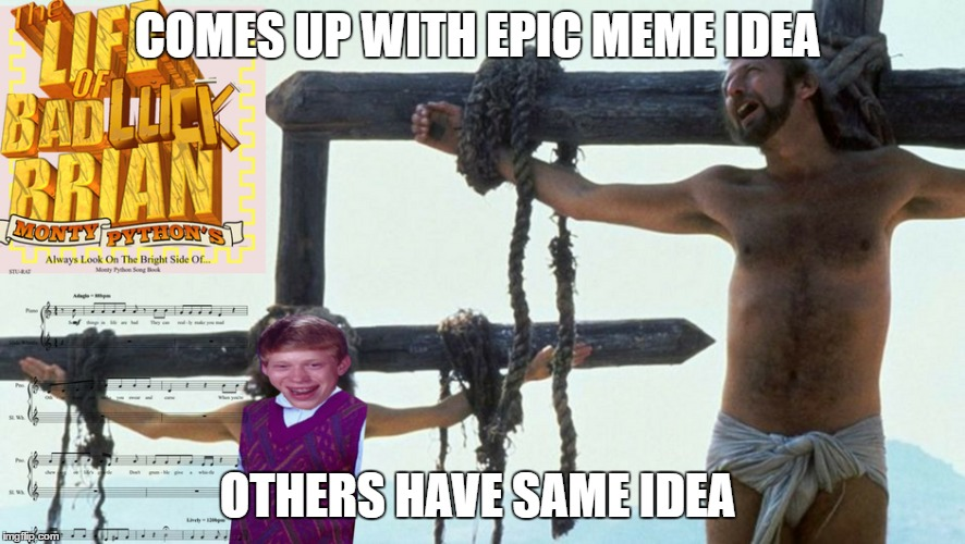 COMES UP WITH EPIC MEME IDEA OTHERS HAVE SAME IDEA | made w/ Imgflip meme maker