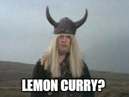 LEMON CURRY? | made w/ Imgflip meme maker