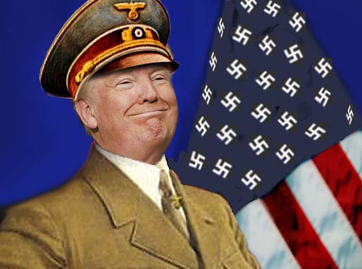 Image result for trump pics as nazi