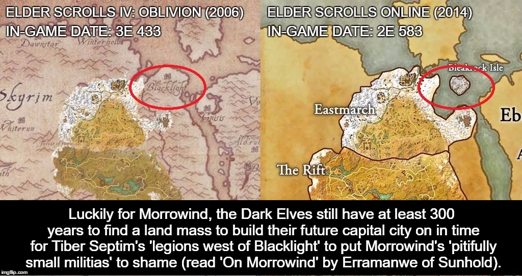 Elder scrolls map comparison blacklights missing land mass imgflip elder scrolls map comparison blacklights missing land mass gumiabroncs Image collections