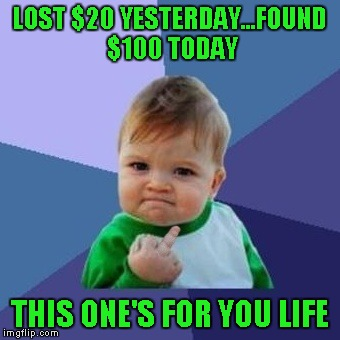 "Whenever something bad happens, people always say ""That's life""!!! 