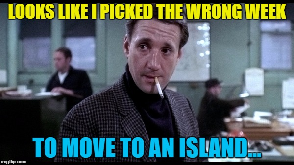 "The photo is actually from ""The French Connection"" but still... :) 