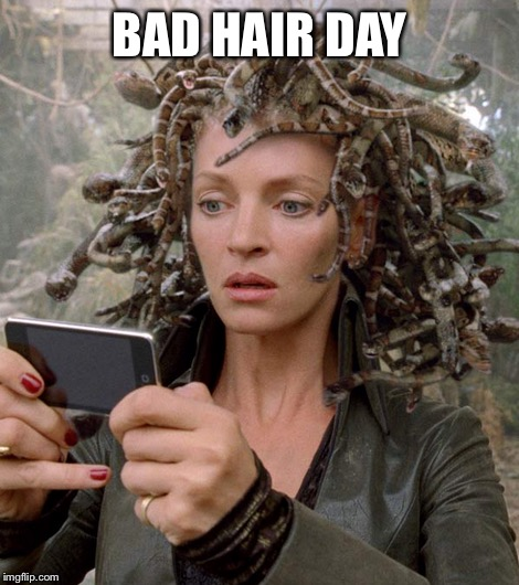 BAD HAIR DAY | made w/ Imgflip meme maker
