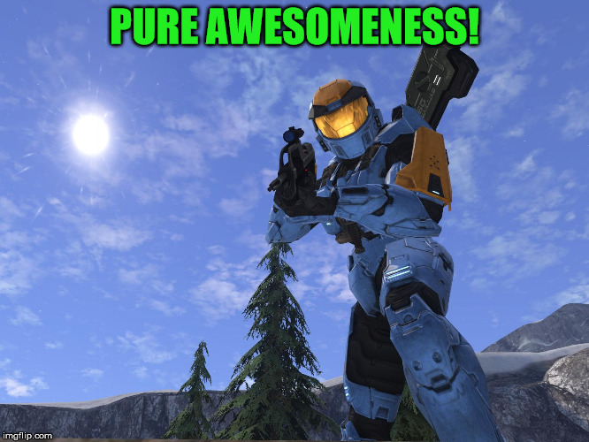 Demonic Penguin Halo 3 | PURE AWESOMENESS! | image tagged in demonic penguin halo 3 | made w/ Imgflip meme maker