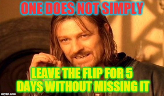 "Just Checking In .. Back To ""Normal"" By Wednesday :-) 