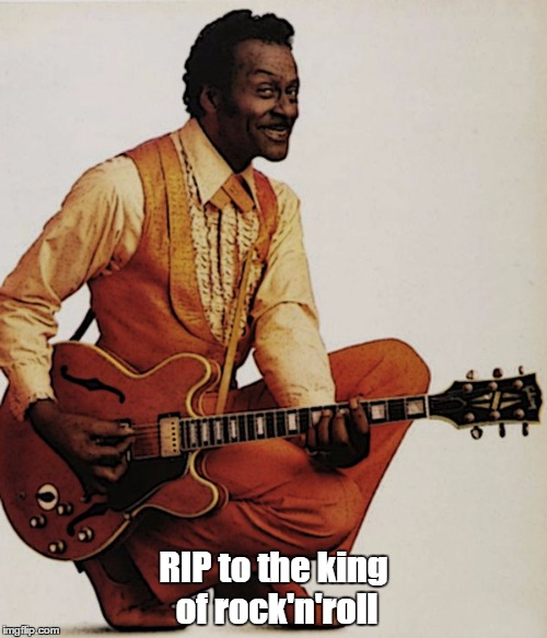 90 years is a long-ass time. | RIP to the king of rock'n'roll | image tagged in meme,chuck berry,chuck berry duck walk | made w/ Imgflip meme maker