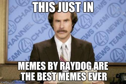 Funniest Memes Ever Created : Raydog iz da best memer imgflip