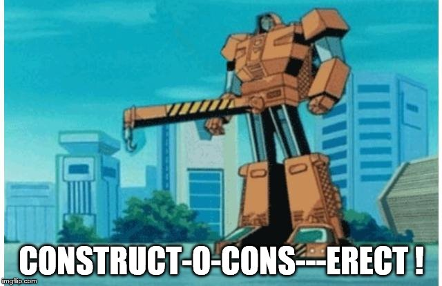 "Seems like they should ""erect"" something...but what? 