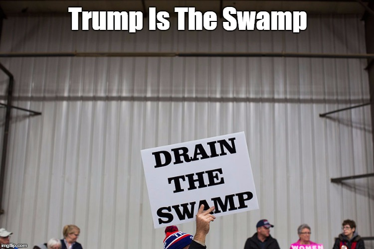 Trump Is The Swamp | made w/ Imgflip meme maker