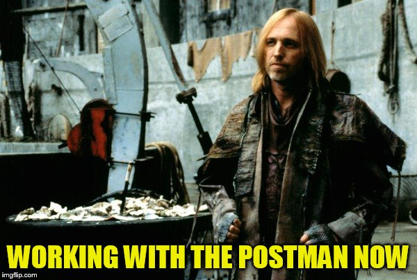 WORKING WITH THE POSTMAN NOW | made w/ Imgflip meme maker