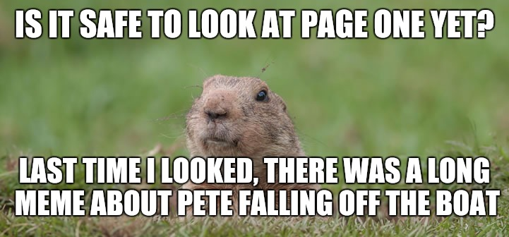 I now have my bookmark set for my profile | IS IT SAFE TO LOOK AT PAGE ONE YET? LAST TIME I LOOKED, THERE WAS A LONG MEME ABOUT PETE FALLING OFF THE BOAT | image tagged in imgflip,pete and repeat,long meme | made w/ Imgflip meme maker