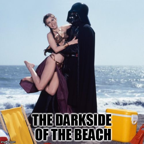 THE DARKSIDE OF THE BEACH | made w/ Imgflip meme maker