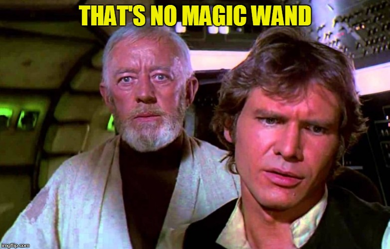 THAT'S NO MAGIC WAND | made w/ Imgflip meme maker