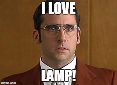 I LOVE LAMP! | image tagged in i love lamp | made w/ Imgflip meme maker