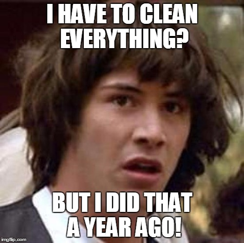 1lx3u8 it's spring cleaning time! imgflip,Memes About Cleaning