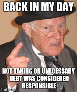 "Appartments dont want to rent to us because we dont have enough ""lines of credit"" (i.e. credit cards) 