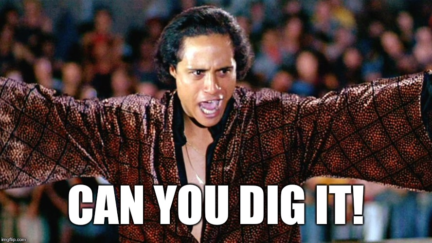 Can You Dig It? | CAN YOU DIG IT! | image tagged in can you dig it | made w/ Imgflip meme maker