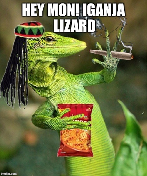 HEY MON! IGANJA LIZARD | made w/ Imgflip meme maker