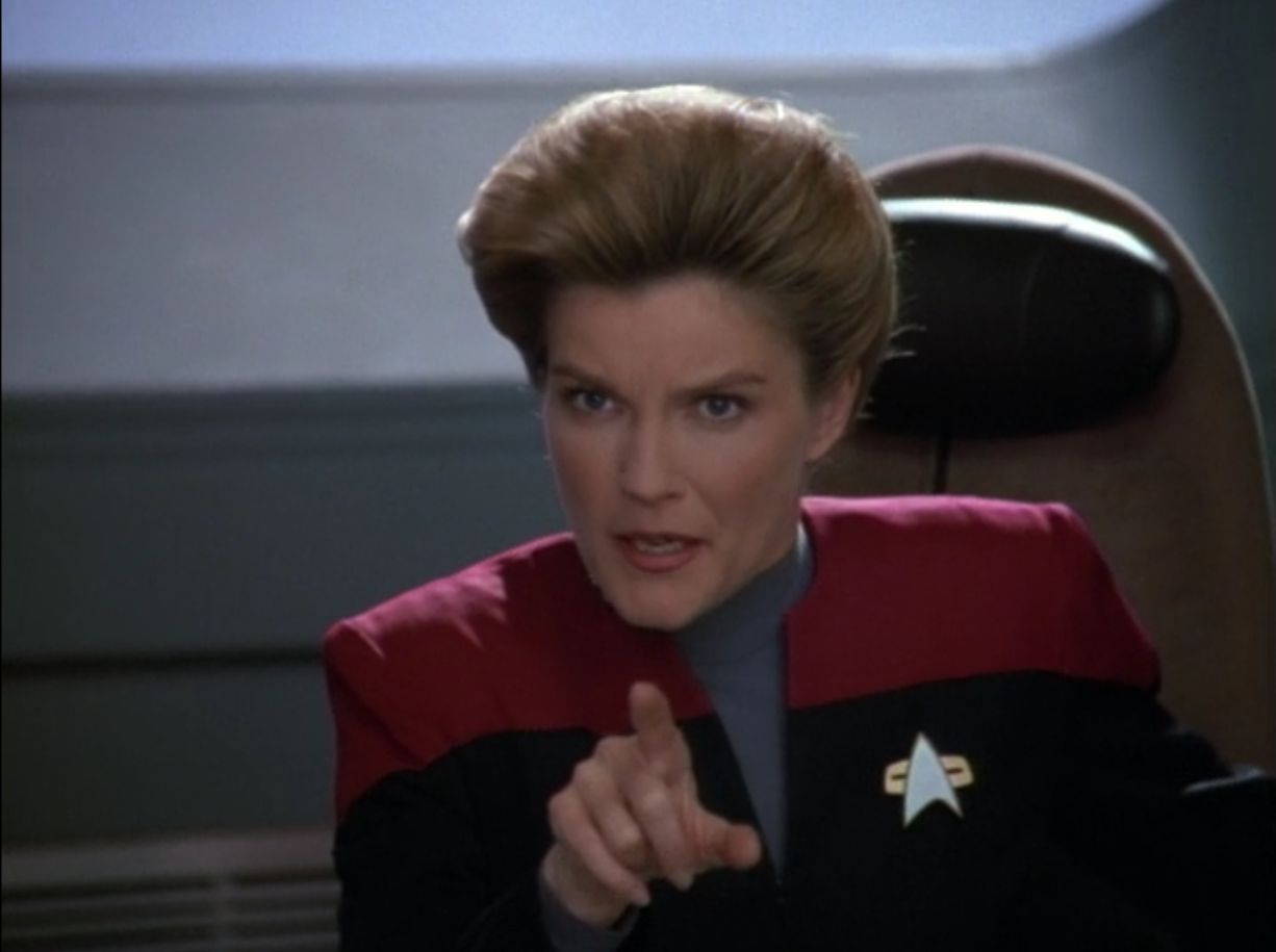i want you to bring me some coffee - captain janeway Meme Template