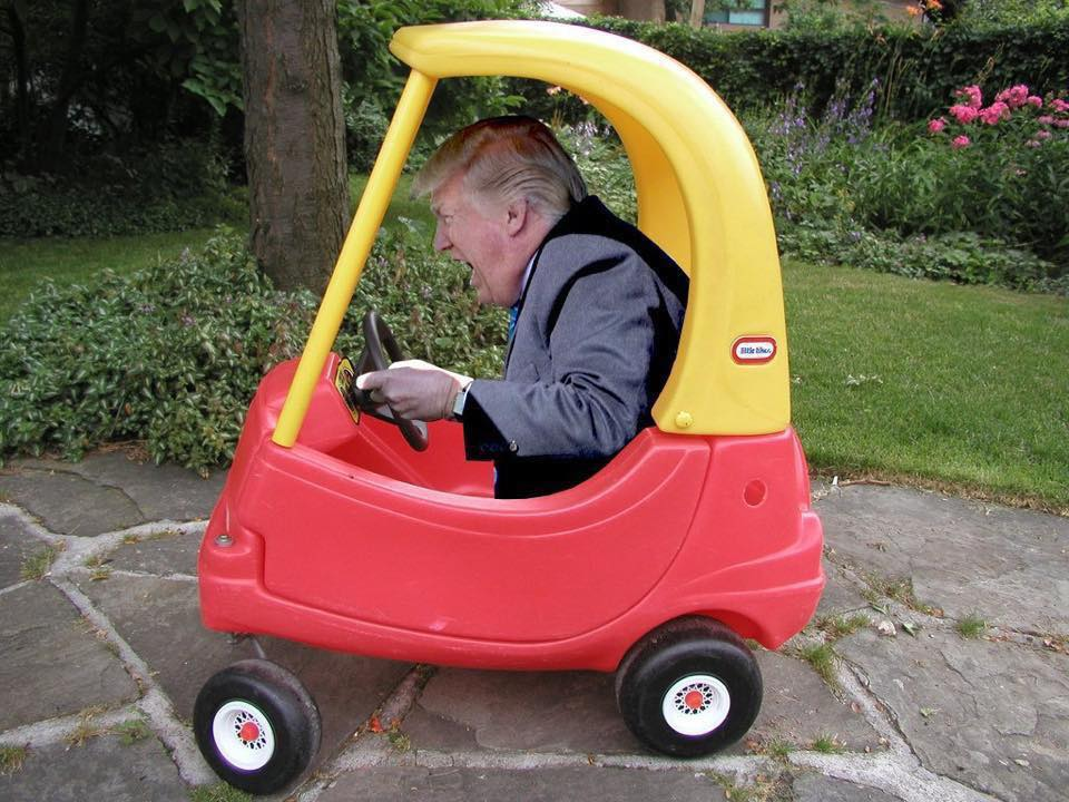 trump toy car blank template imgflip