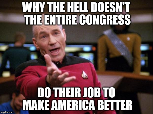 "Patrick Stewart ""why the hell..."" 