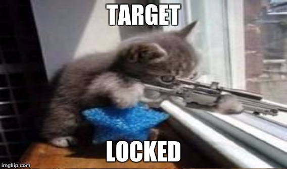 TARGET LOCKED | made w/ Imgflip meme maker
