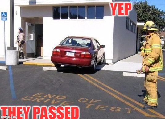 But It Is Perfectly Parallel  | YEP THEY PASSED | image tagged in meme,funny,fails,better luck next time,driving,cars | made w/ Imgflip meme maker