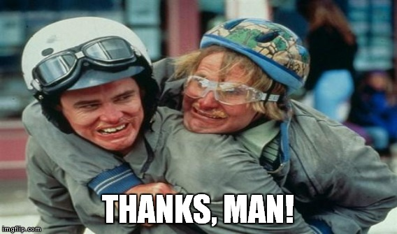 THANKS, MAN! | made w/ Imgflip meme maker