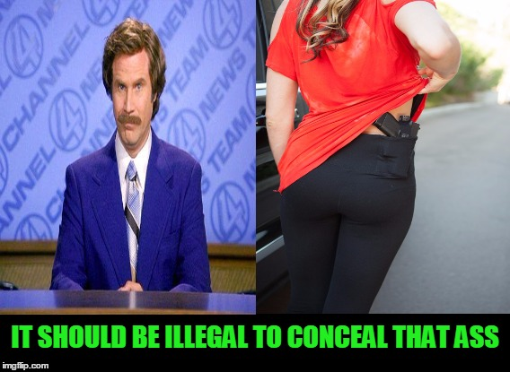 yoga pants week. You might want to think twice before groping  | IT SHOULD BE ILLEGAL TO CONCEAL THAT ASS | image tagged in yoga pants week | made w/ Imgflip meme maker