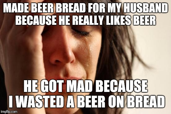 """It's the thought that counts"" didn't work  