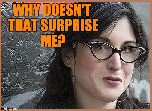 feminist Zeisler | WHY DOESN'T THAT SURPRISE ME? | image tagged in feminist zeisler | made w/ Imgflip meme maker