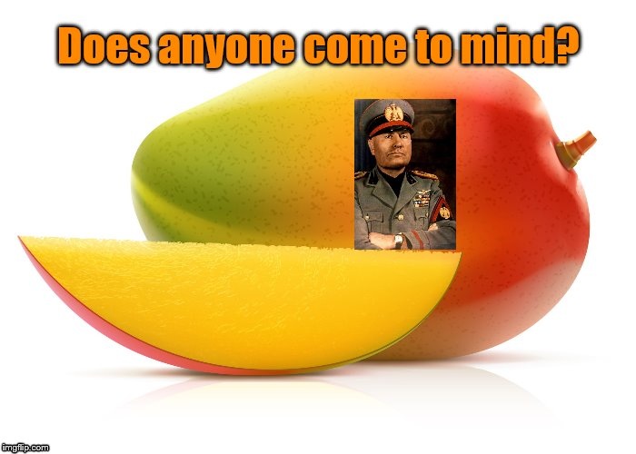Mango | Does anyone come to mind? | image tagged in mango | made w/ Imgflip meme maker