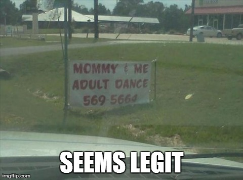 SEEMS LEGIT | image tagged in hotline,funny,signs/billboards,fails | made w/ Imgflip meme maker