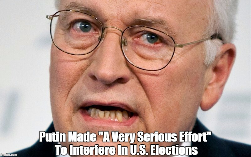 "Putin Made ""A Very Serious Effort"" To Interfere In U.S. Elections 