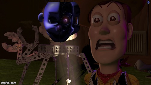 Perfect | image tagged in fnaf sister location,fnaf,toy story | made w/ Imgflip meme maker