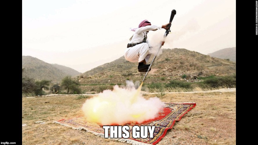 Arabic Jet Pack | THIS GUY | image tagged in arabic jet pack | made w/ Imgflip meme maker