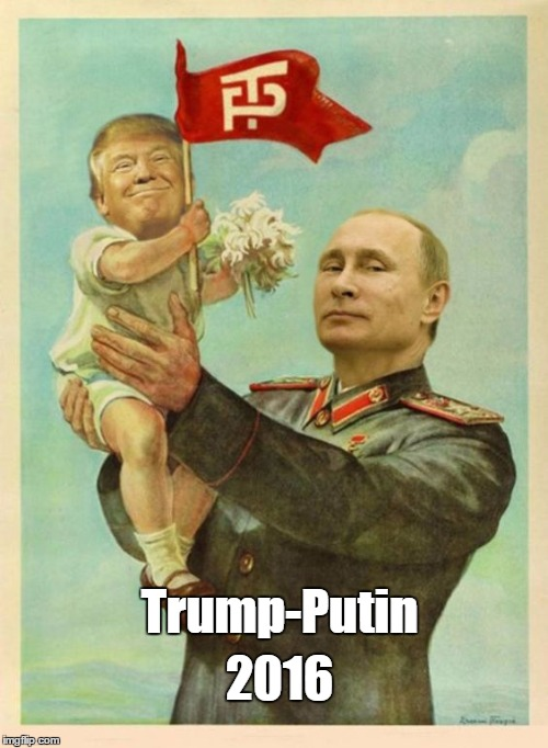 Trump-Putin 2016 | made w/ Imgflip meme maker