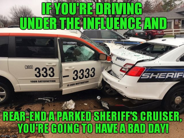 """Is there a problem officer?"" 