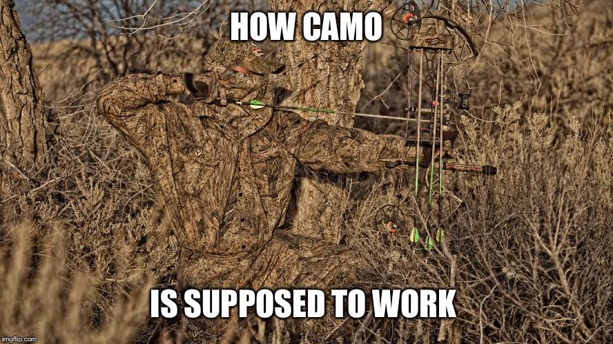HOW CAMO IS SUPPOSED TO WORK | made w/ Imgflip meme maker