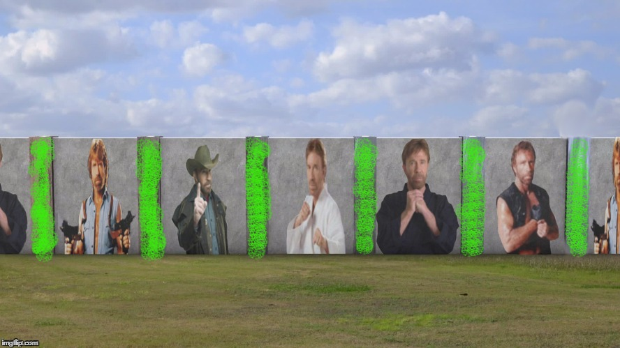 CHUCK NORRIS POISONED WALL | made w/ Imgflip meme maker
