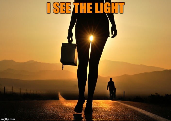 I SEE THE LIGHT | made w/ Imgflip meme maker