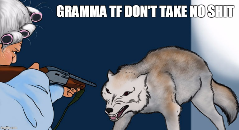 GRAMMA TF DON'T TAKE NO SHIT | made w/ Imgflip meme maker