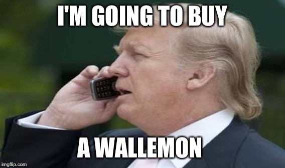 I'M GOING TO BUY A WALLEMON | made w/ Imgflip meme maker