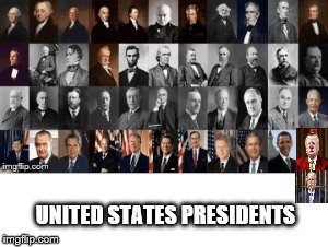 us presidents group photo | UNITED STATES PRESIDENTS | image tagged in presidents,president of the united states,united states,united states of america,photo | made w/ Imgflip meme maker
