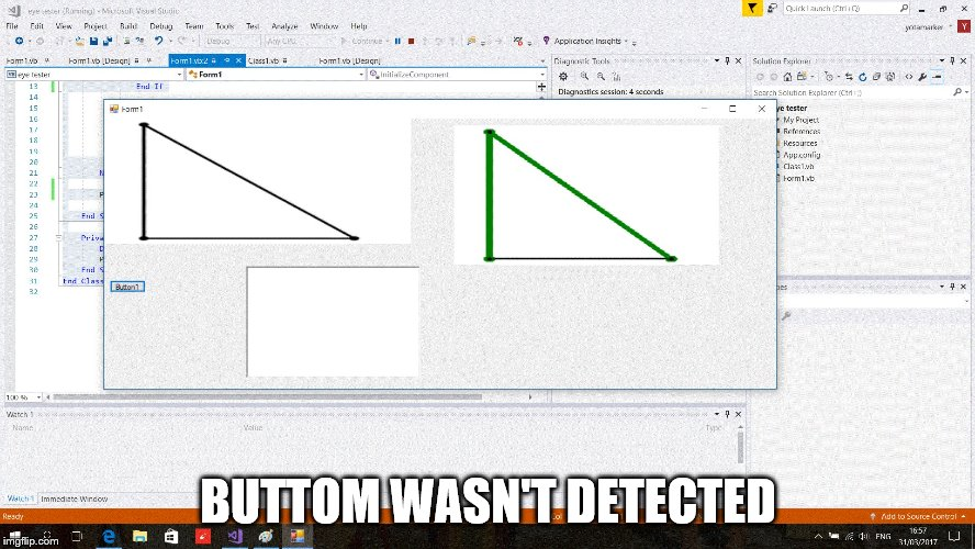 BUTTOM WASN'T DETECTED | made w/ Imgflip meme maker
