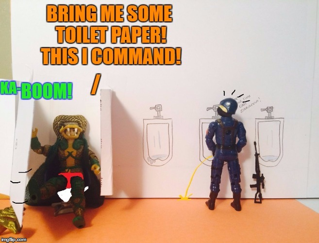 Big trouble in the terror drome | image tagged in bathroom humor,bathroom stall | made w/ Imgflip meme maker