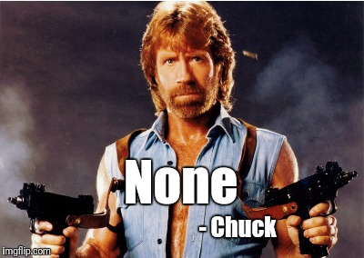 None - Chuck | made w/ Imgflip meme maker